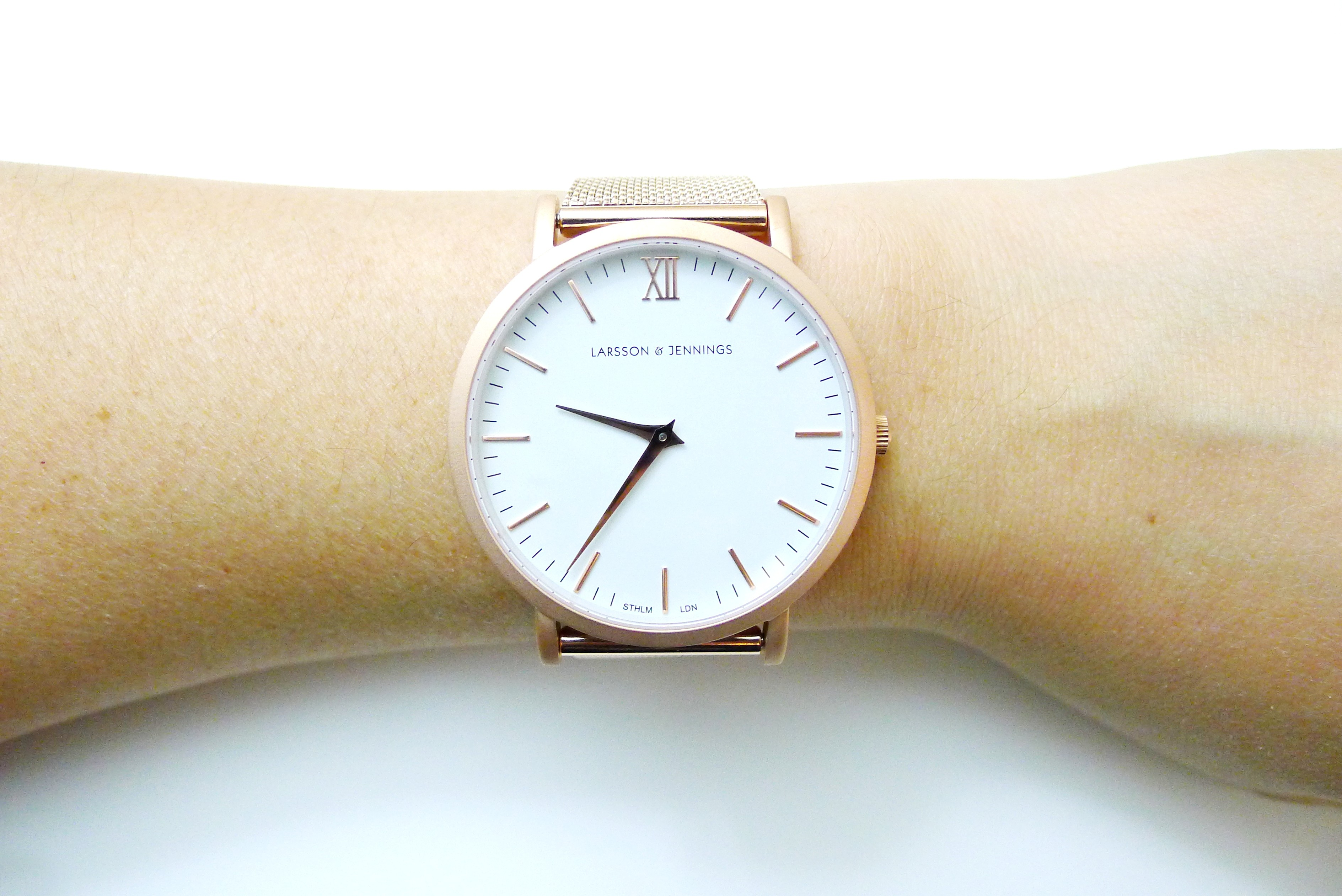 Larsson & Jennings Rose Gold Watch | Net a Porter Exclusive