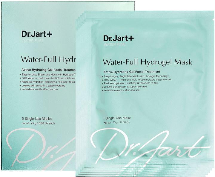 Dr. Jart+ Water Fuse Water-Full Hydrogel Mask Sephora VIB Sales Hello Nance Beauty Fashion Lifestyle Travel Lifestyle Canada