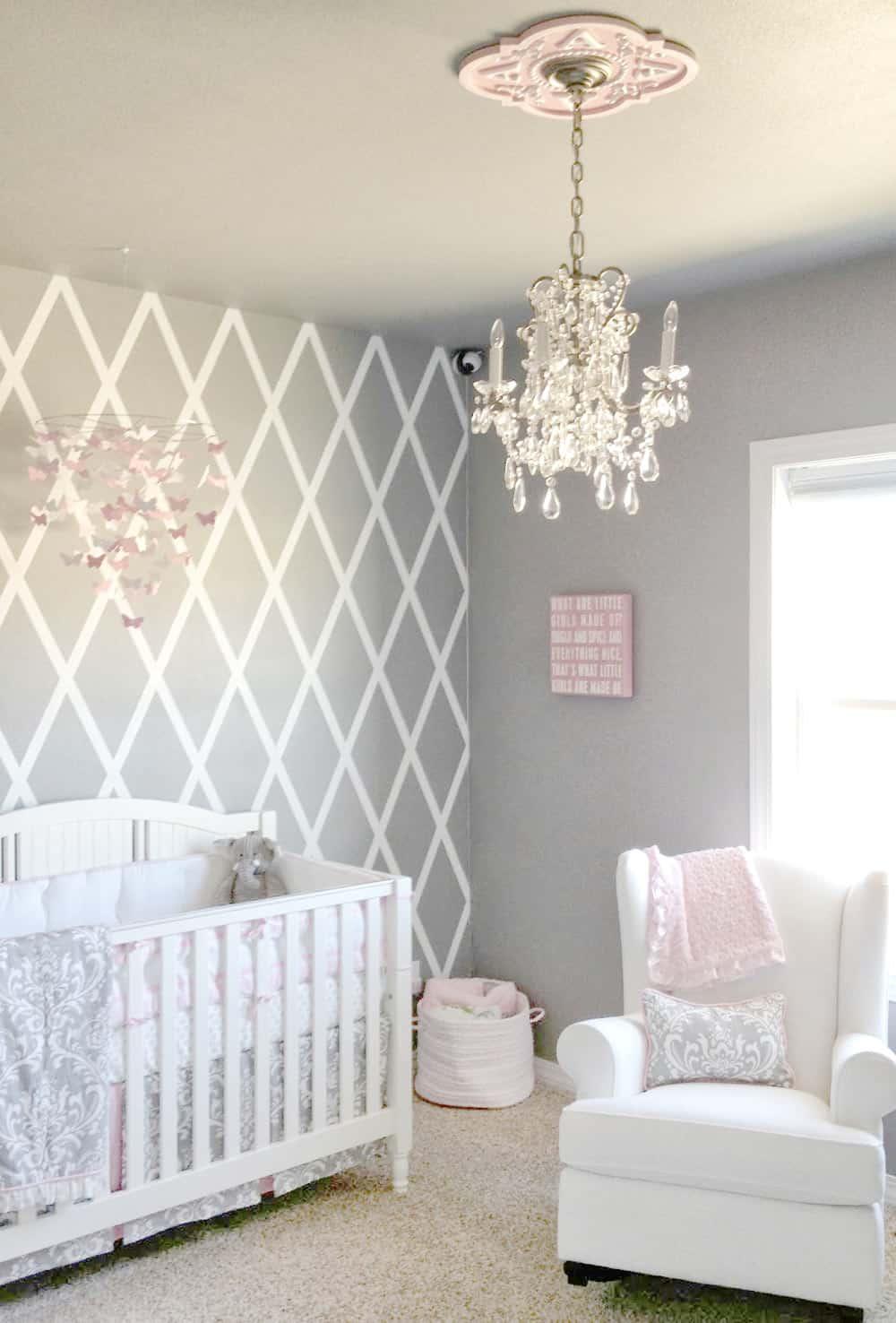 baby nursery decor Sweet Nursery Ideas Hellonance.com