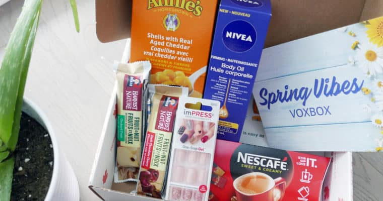 Influenster VOXBOX Spring Vibes Review