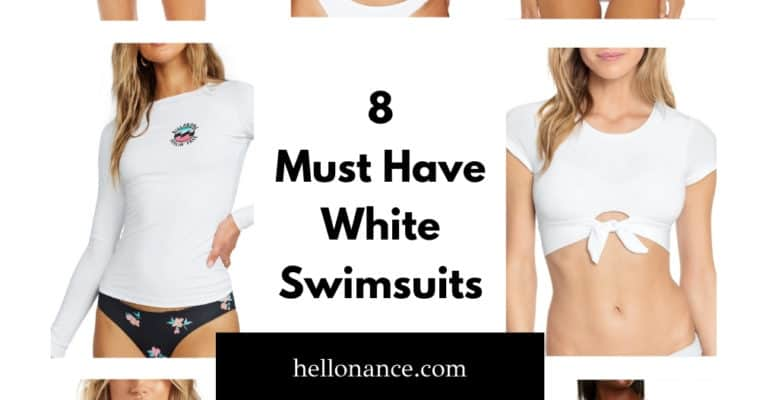 8 Must Have White Swimsuits