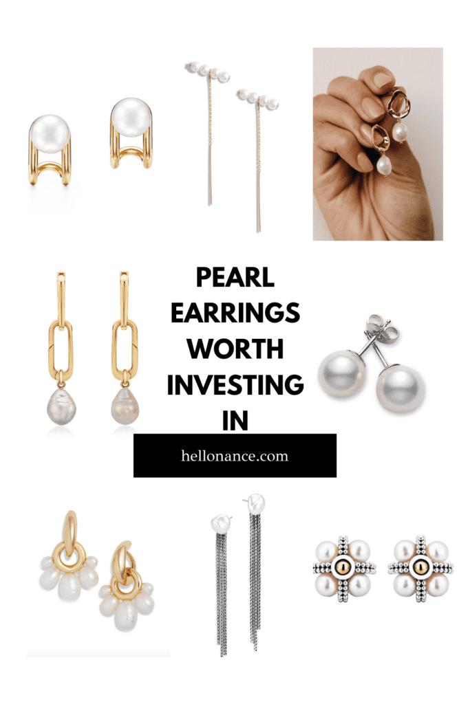 8 Pearl Earrings Worth Investing Best Pearl Earrings