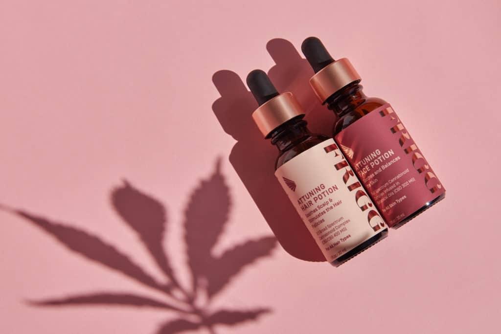 Frigg Wellness Cannabis Attuning Hair Potion  Attuning face Potion
